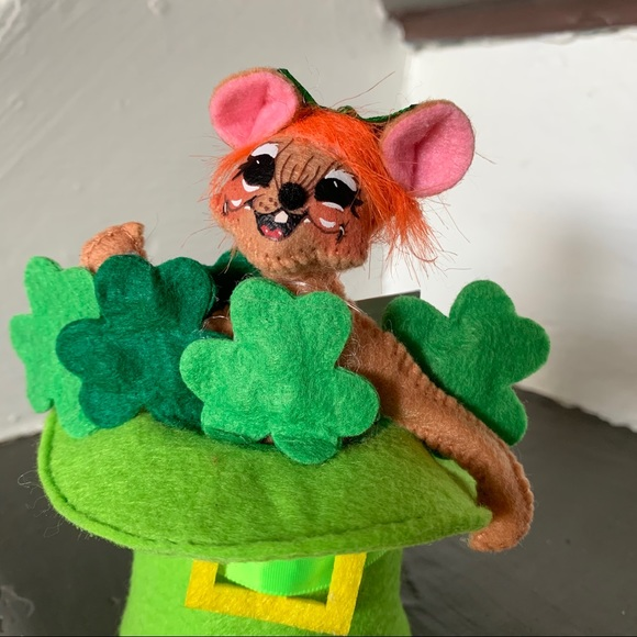 Annalee St. Patrick's Day Mouse
